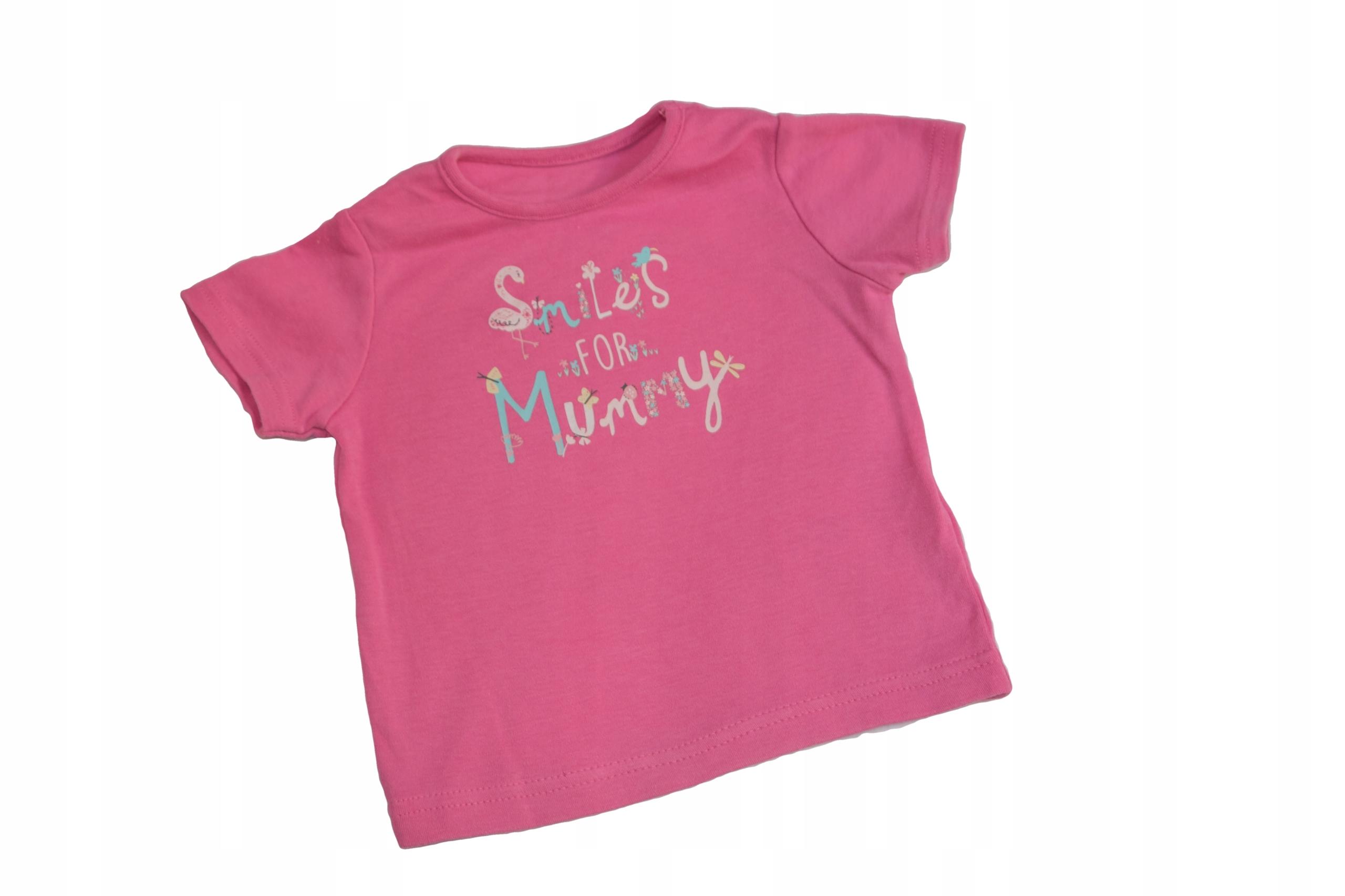 T-shirt bluzeczka dla dziewczynki - 68