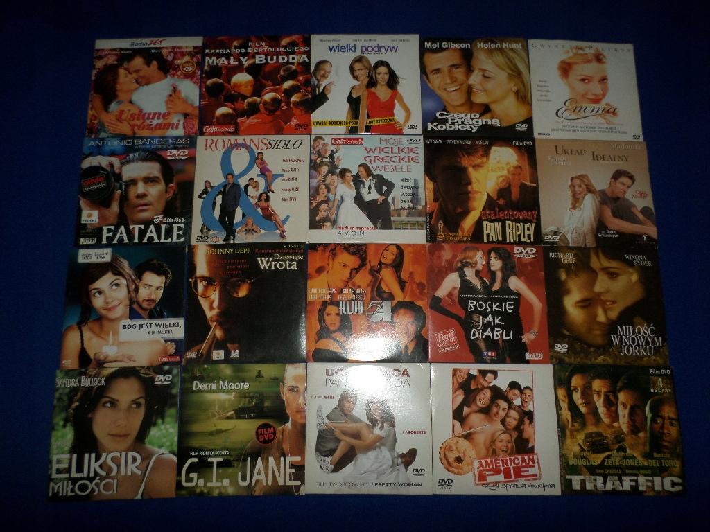 20 filmów na DVD Gwiazdy kina