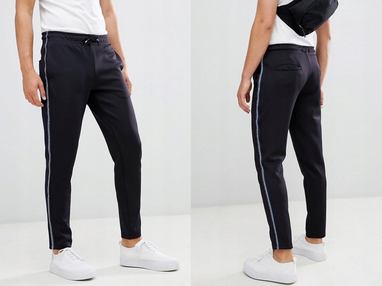 Jack & Jones Spodnie z Lampasami Jogger W32