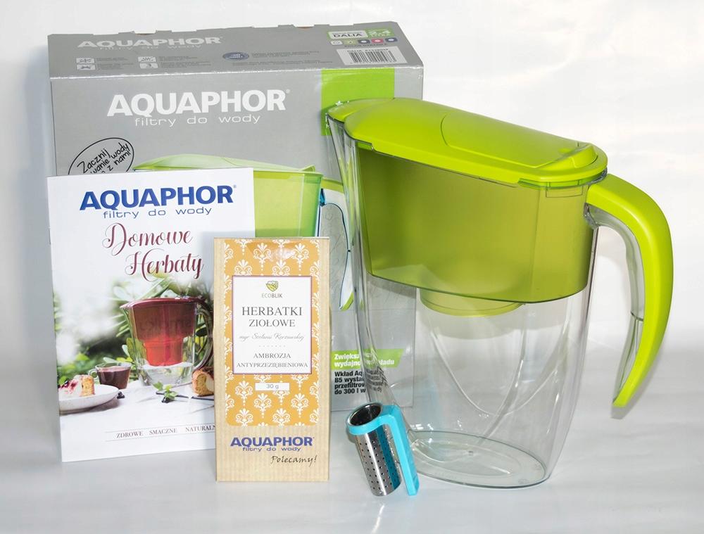 Dzbanek Aquaphor Dalia Limonka + wkład B5 + GRATIS
