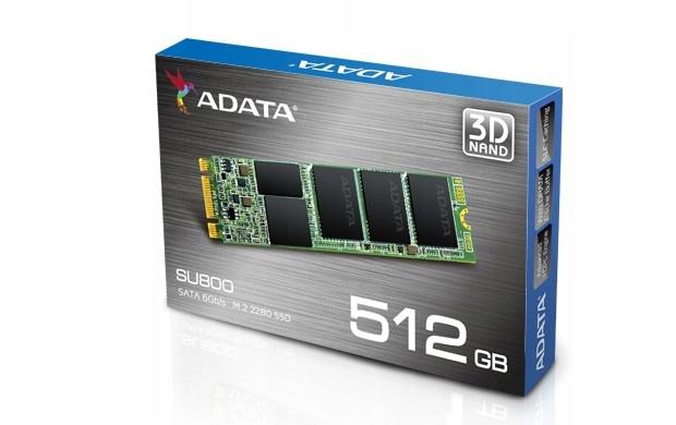 ADATA SU800 512 GB DYSK SSD M.2 2280 560MBs 3DNAND