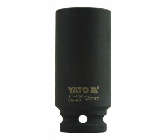Nasadka udarowa długa 1/2'' 25 mm YT-1045 YATO