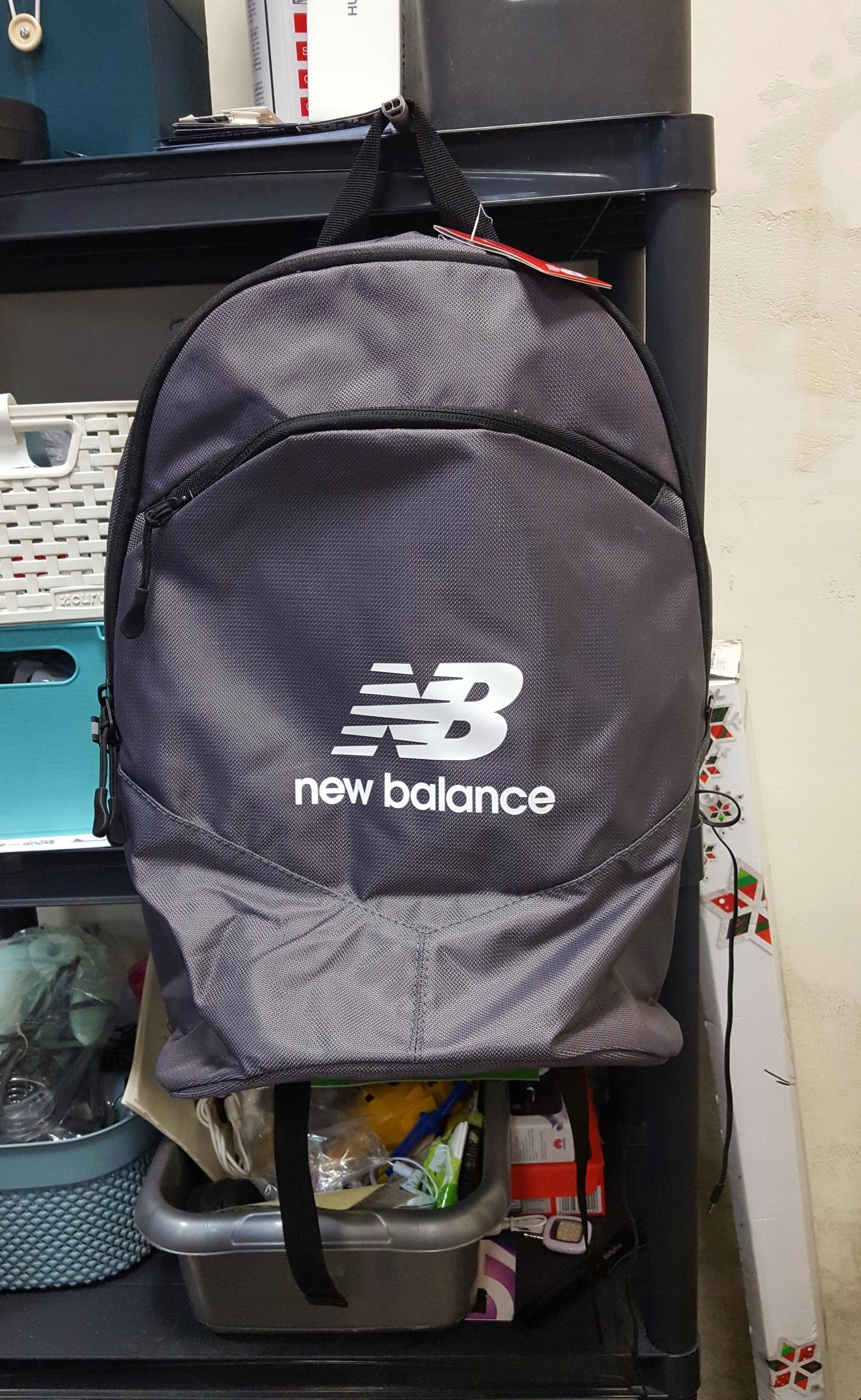 New Balance NB Backpack  NTBBAPK8BK