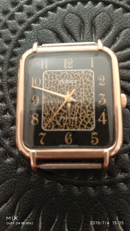Złoty zegarek Poljot 583