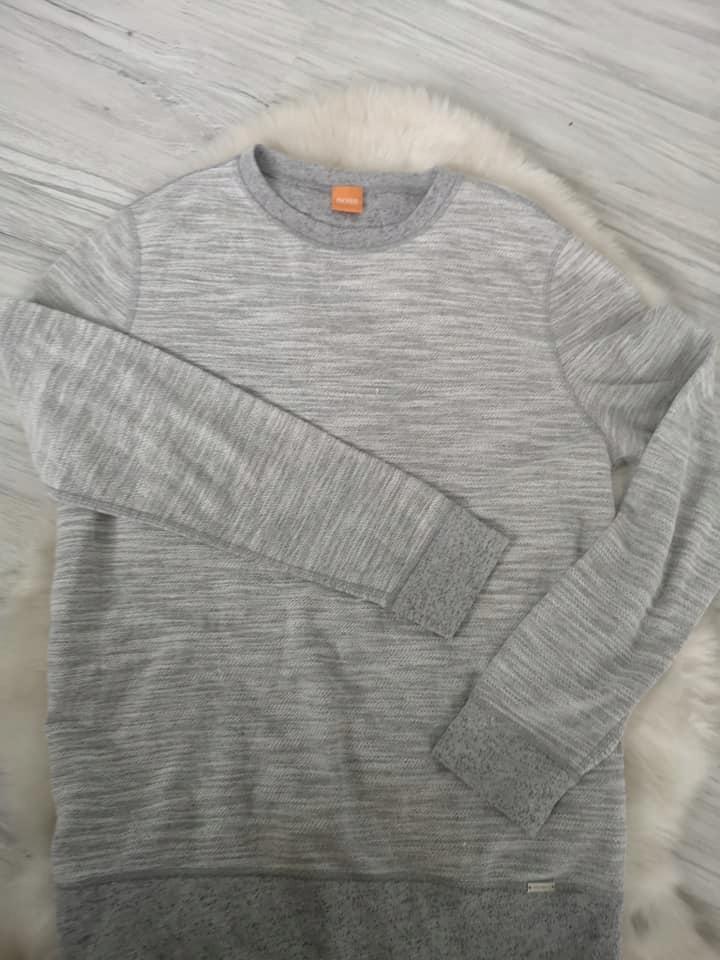 HUGO BOSS męski sweterek melanż M oryginał
