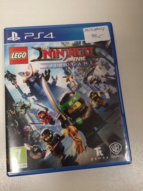 GRA PS4 LEGO NINJAGO MOVIE J. ANGIELSKI