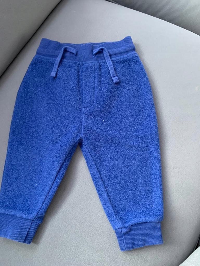 Next spodnie niebieskie 80cm