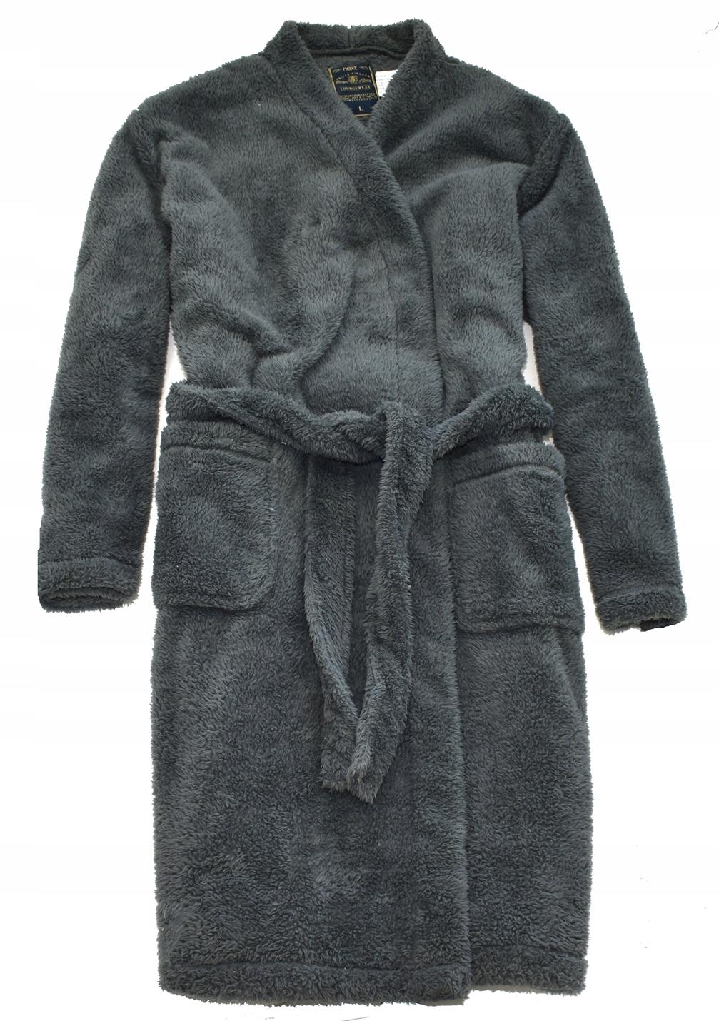 MM 384 NEXT_ORGINAL WARM GREY DRESSING GOWN_L