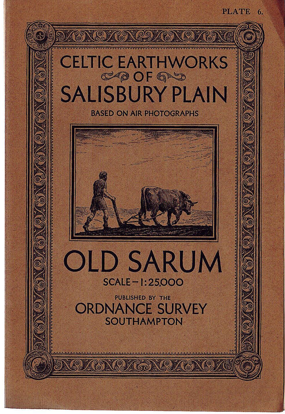 Celtic earthworks of salisbury plain OLD SARUM 191