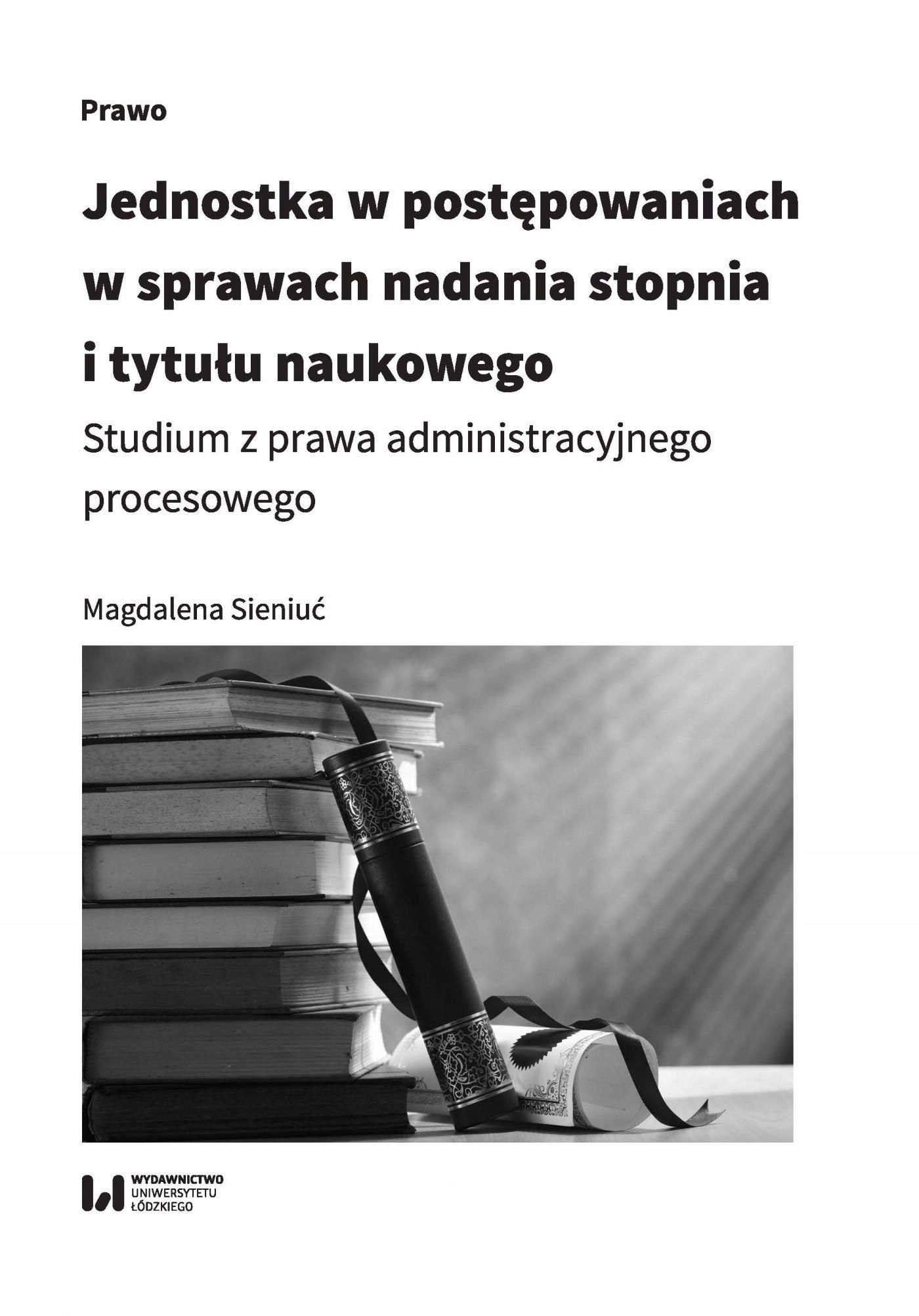 Jednostka w postępowaniach w... Magdalena Sieniuć