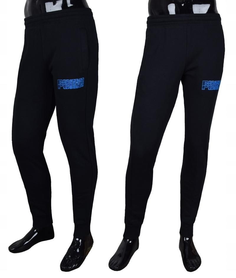 Spodnie dresowe PUMA czarne r. L