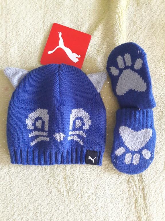 Puma, komplet zimowy dziecięcy NOWY