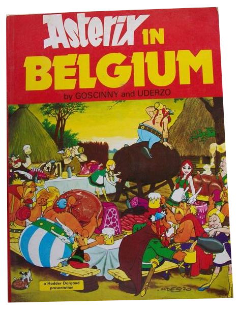 GOSCINNY / UDERZO - ASTERIX IN BELGIUM