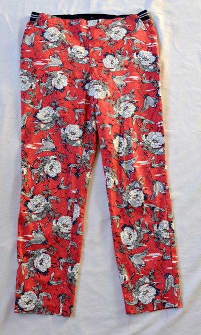 spodnie damskie Medicine 40 wzory czerwone