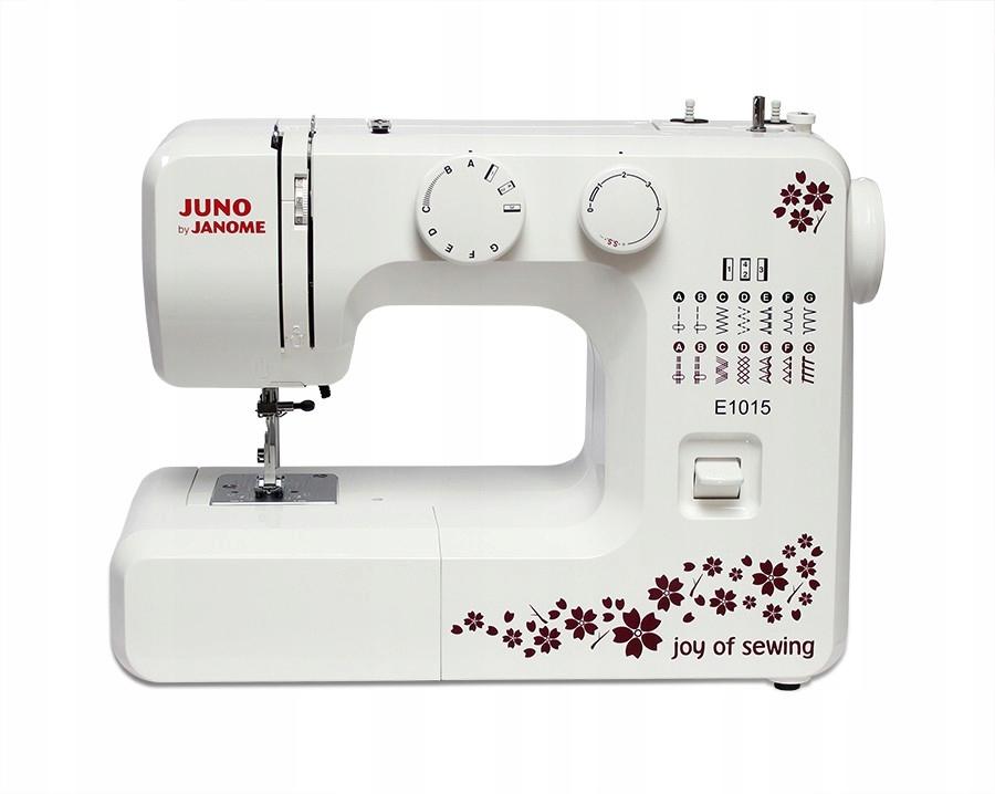 JANOME Maszyna do szycia JUNO E1015
