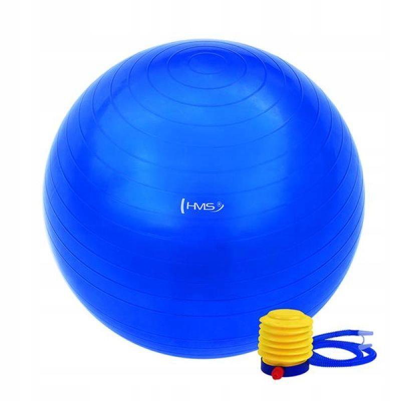 Piłka gimnastyczna YB01 75 cm niebieska