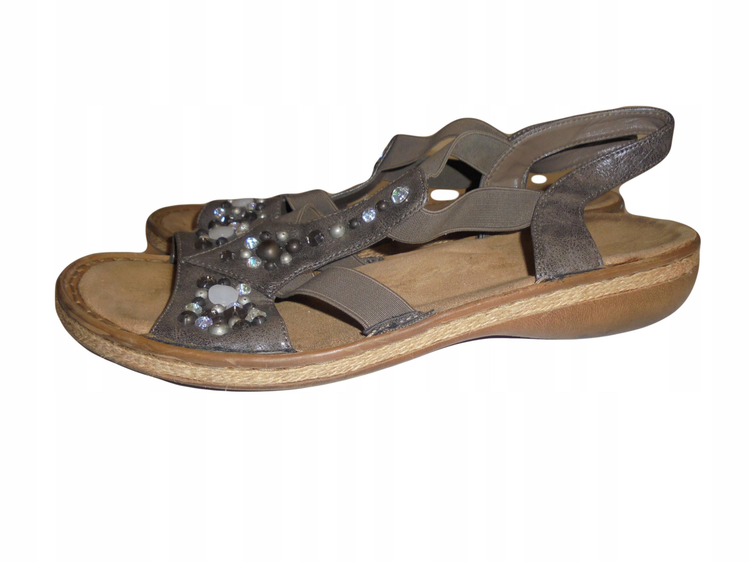 Sandały firmy Rieker. Stan idealny. Rozmiar 42.