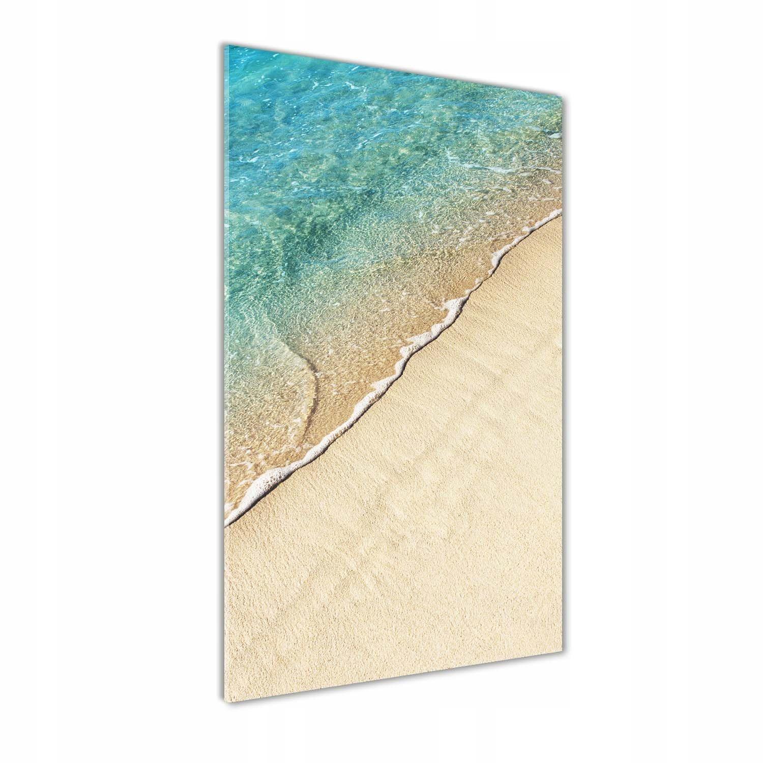 Foto obraz szkło hartowane Morska fala 70x140 cm