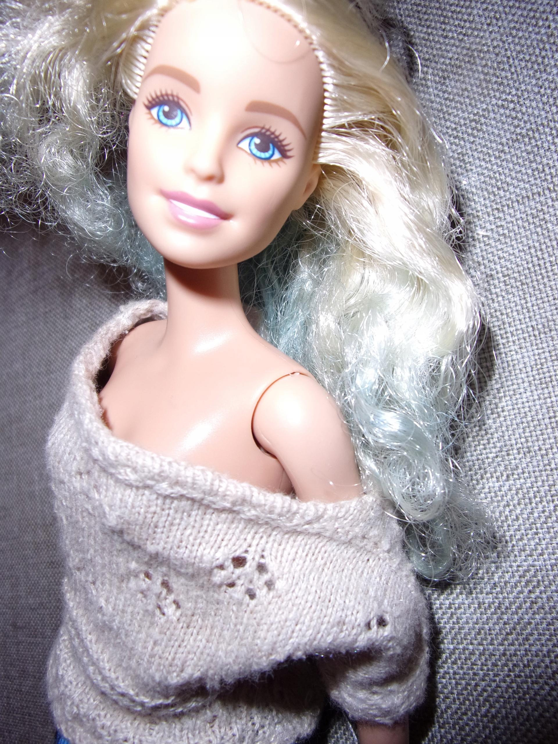 Bluzka Lalki Barbie Mattel nietoperz