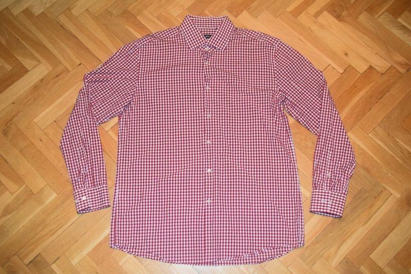 HUGO BOSS SLIM FIT męska koszula ~ 45 / XXL ~