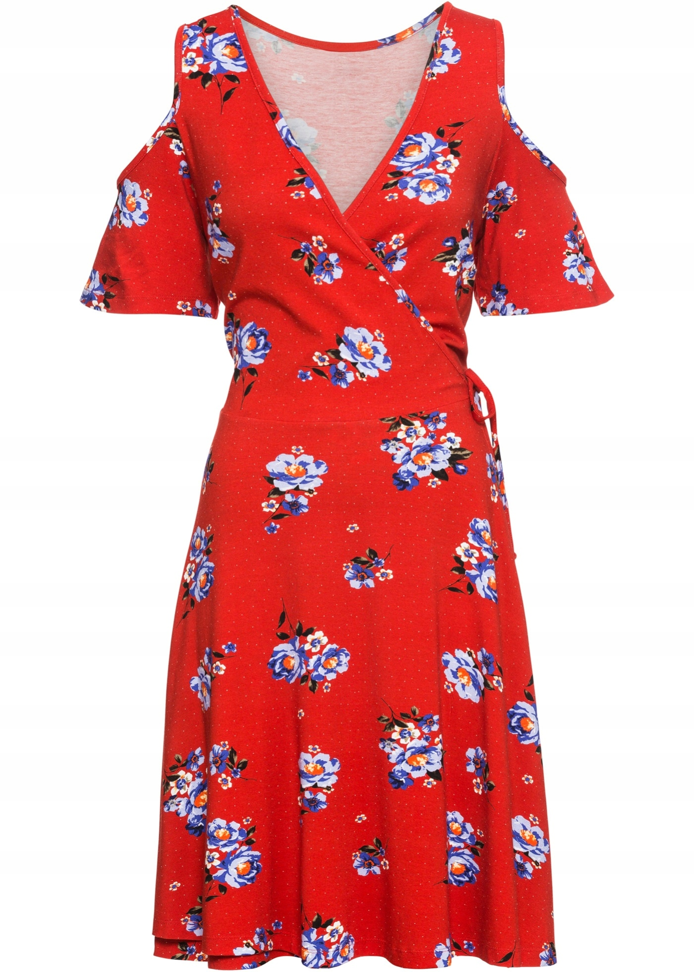 4e01a229 BONPRIX Sukienka z nadrukiem r. 44/46 BODYFLIRT - 7716907410 ...