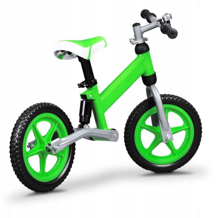 Rowerek biegowy z AMORTYZATOREM 12' Ecotoys