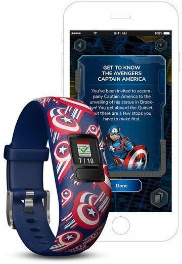 Smartwatch Garmin Vivofit jr. 2 Marvel (Captain Am