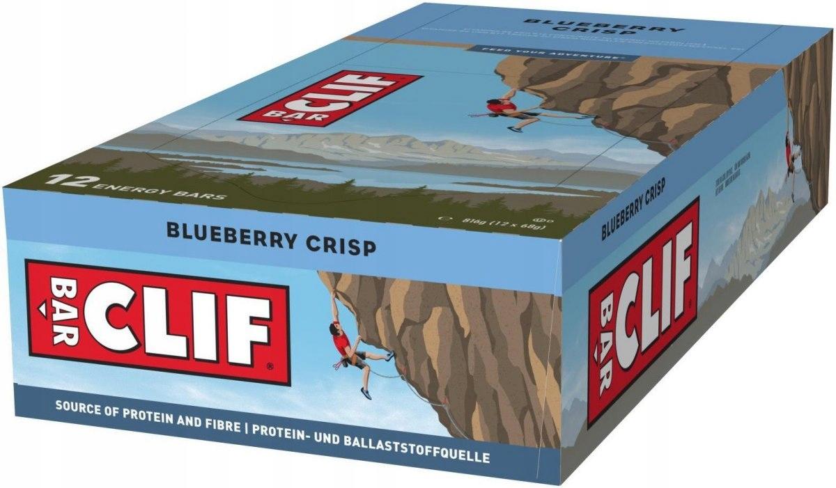 Clif Bar Batony Energetyczne z Witaminami 8 x 68g