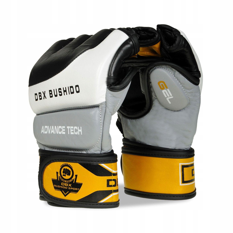 Skórzane rękawice do MMA Bushido E1V2 XL