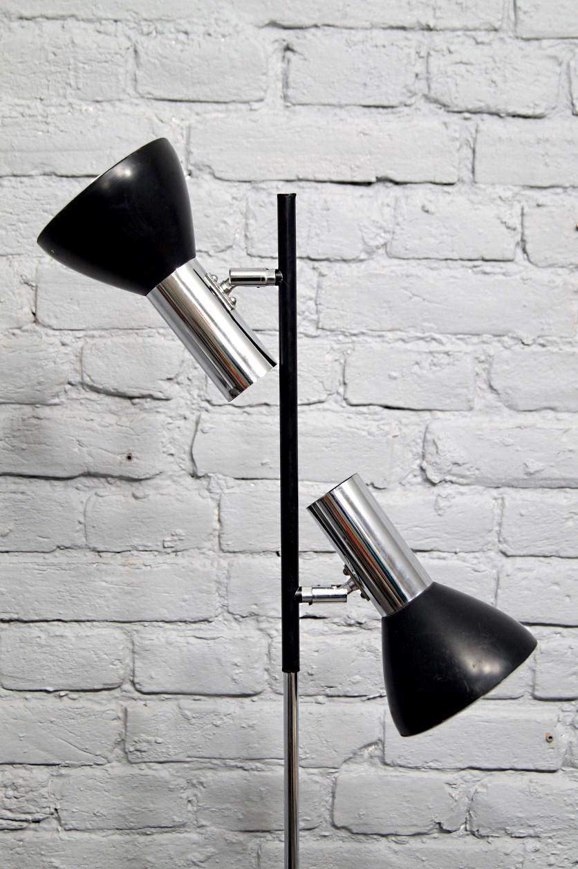 Lampa Podłogowa Koch & Lowy, lata 60, design