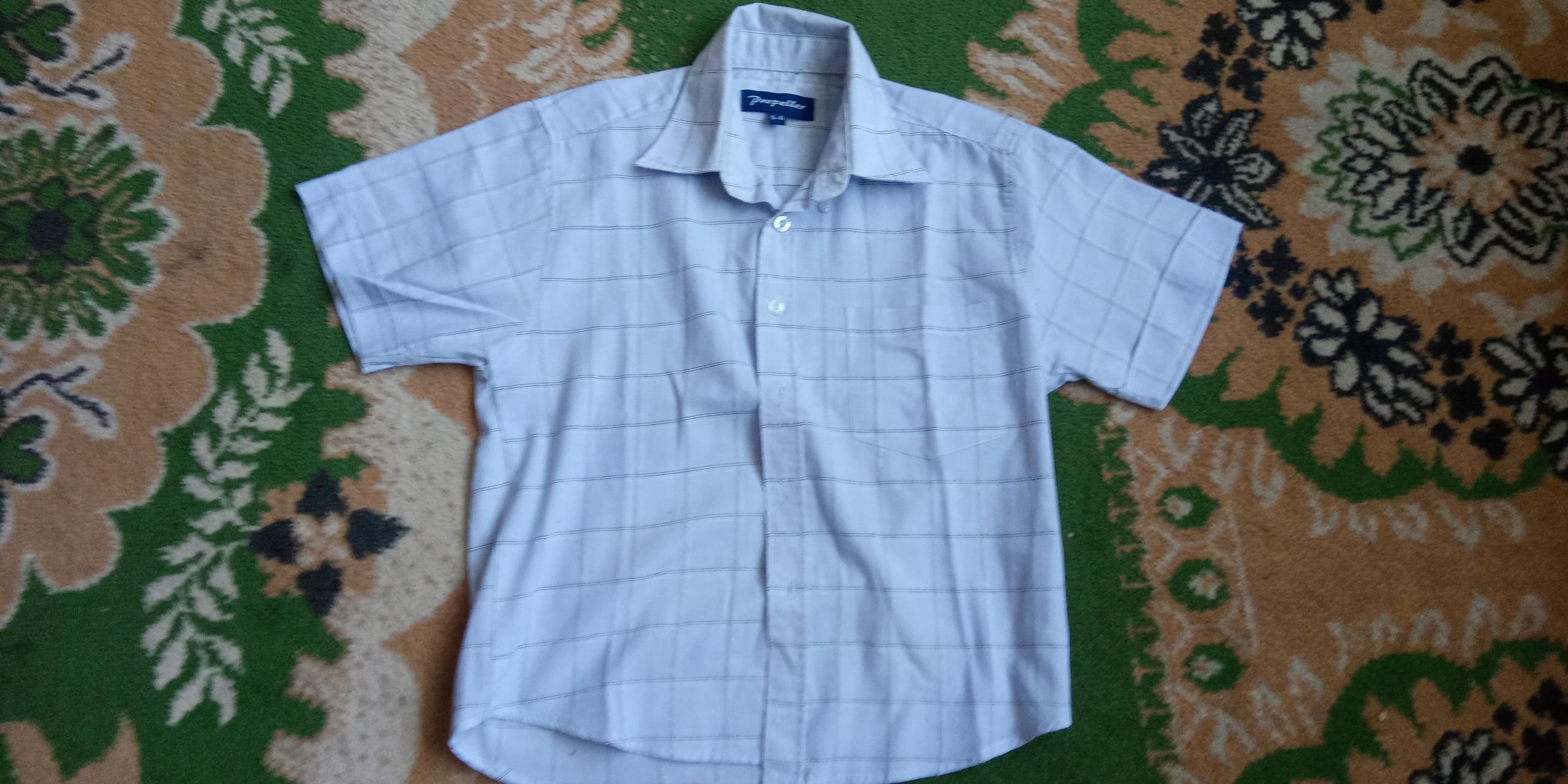 Propeller koszula błękitna r. 116 chłopak 5-6 lat