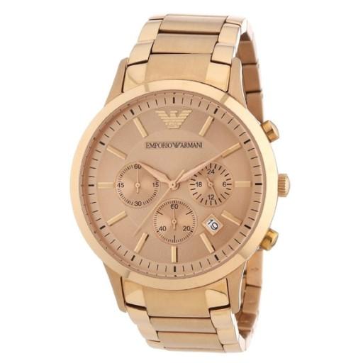 Zegarek Emporio Armani AR2452 Rose Gold BCM !!