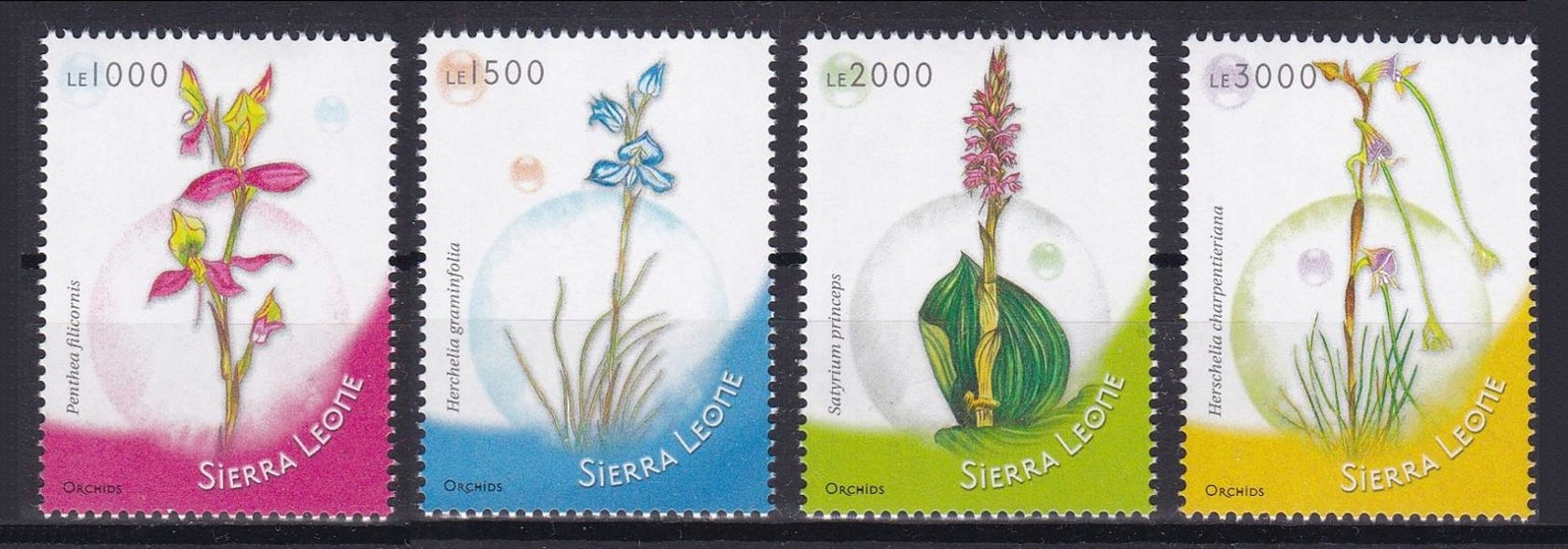 SIERRA LEONE - FLORA - 2009 r. - MNH(**)