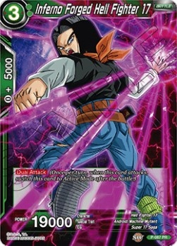 DRAGON BALL - INFERNO FORGED HEIL FIGHTER 17 FOIL