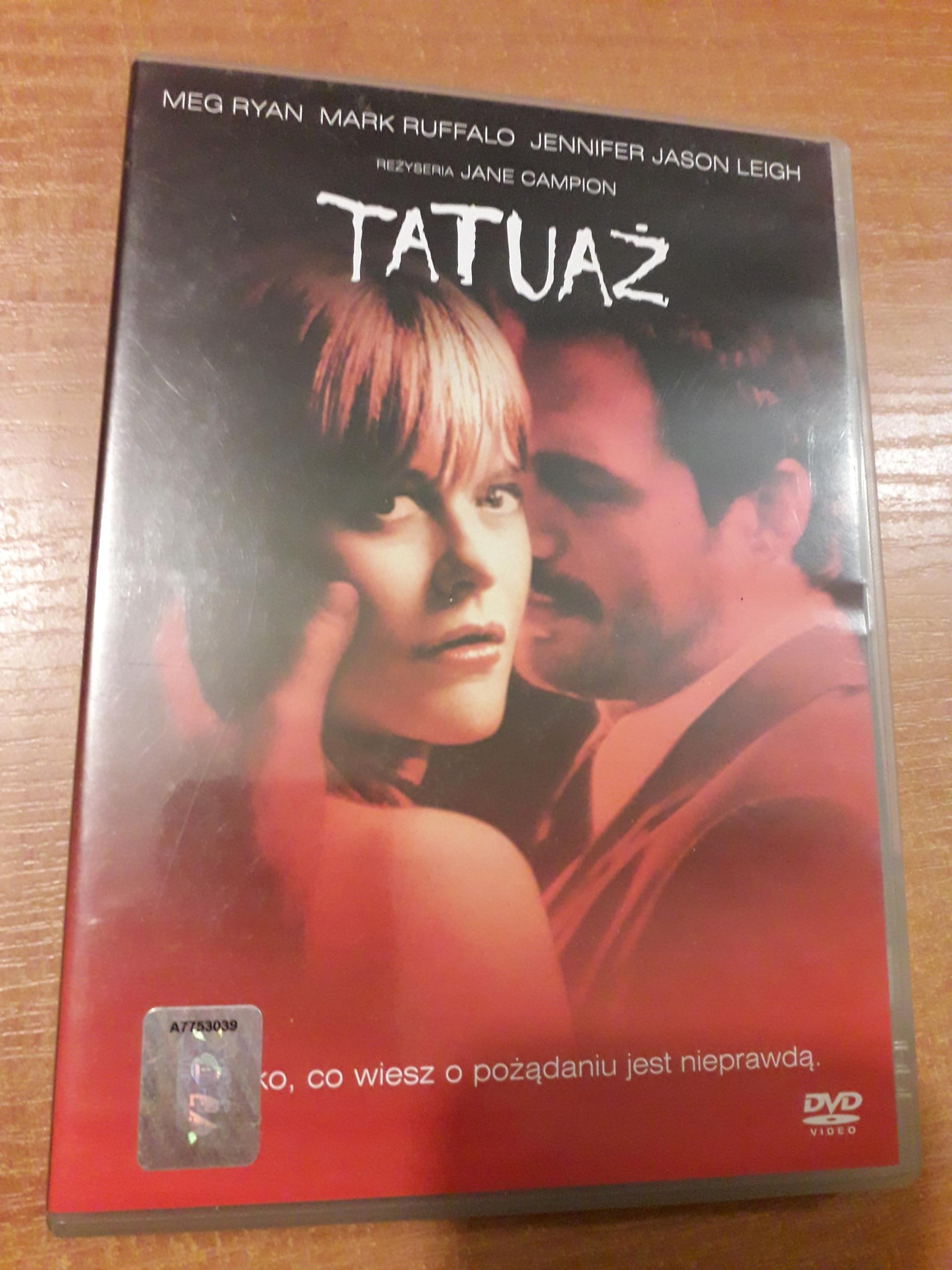 Tatuaż Dvd Używane 7861160947 Oficjalne Archiwum Allegro