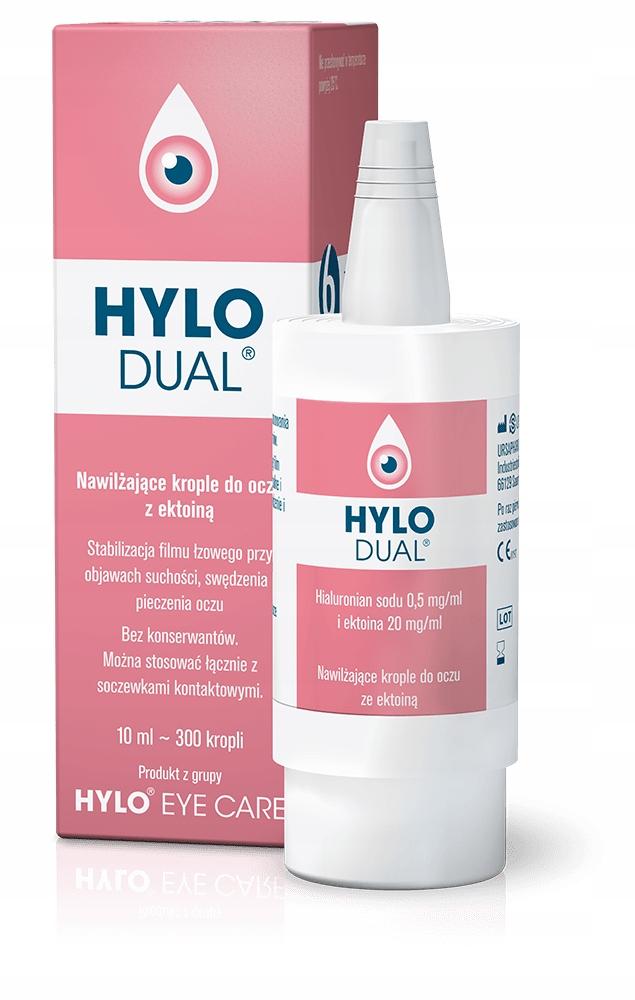 HYLO DUAL hialuronian sodu i ektoina /HYLO-PROTECT