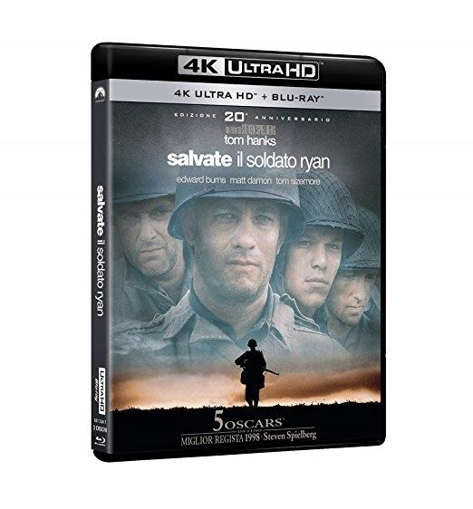 Szeregowiec Ryan 4K Ultra HD Blu-ray +2x Blu-ray