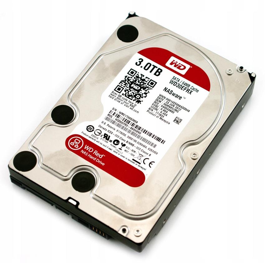 WD Red 3 TB FV23%