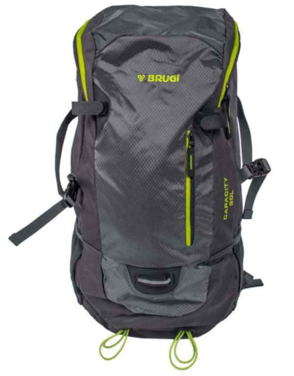 Plecak turystyczny BRUGI 4ZGS - 30L szary (996)