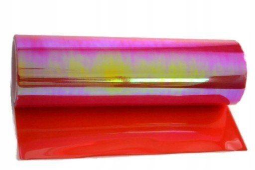 Folia do lamp kameleon czerwony 0,3x8,5m