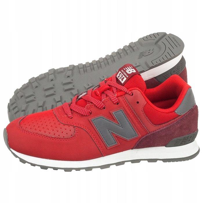 Buty Damskie Sportowe New Balance GC574D1 Czerwone