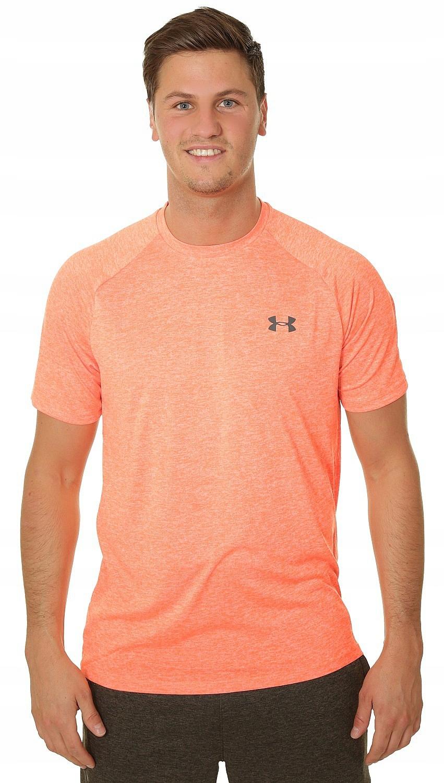 T-shirt Under Armour Tech 2.0 - 882/Orange Glitch
