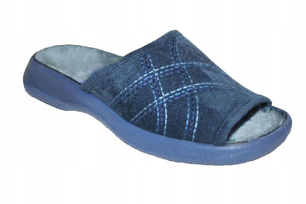 Pantofle kapcie damskie Olivia Befado 442/147 R 37