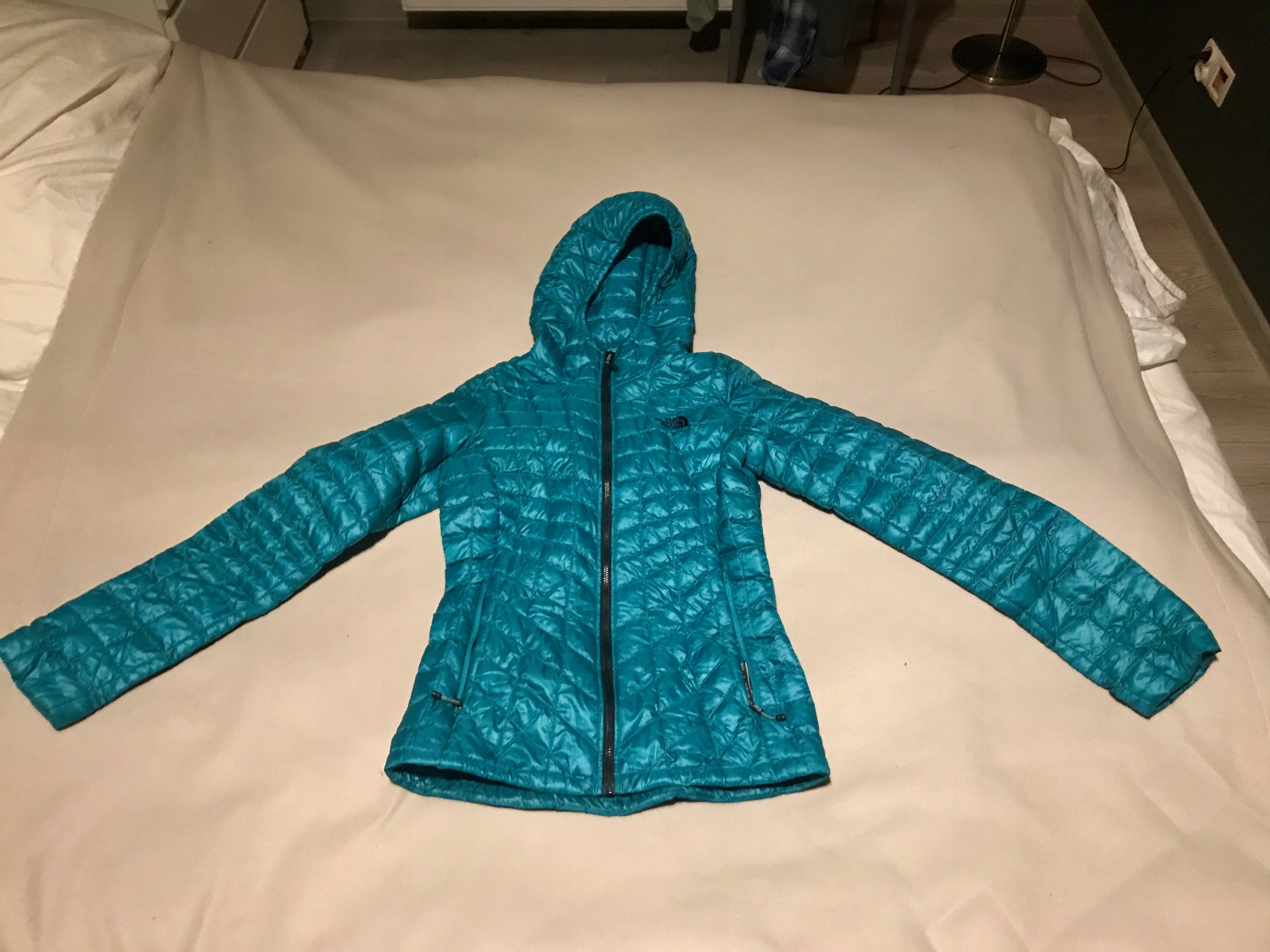 North Face Thermoball Hoodie WMN Green