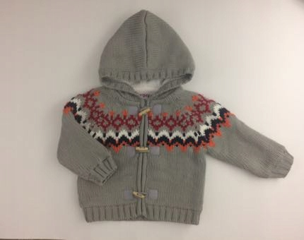 Ocieplana Polarem Bluza / Sweterek 86cm