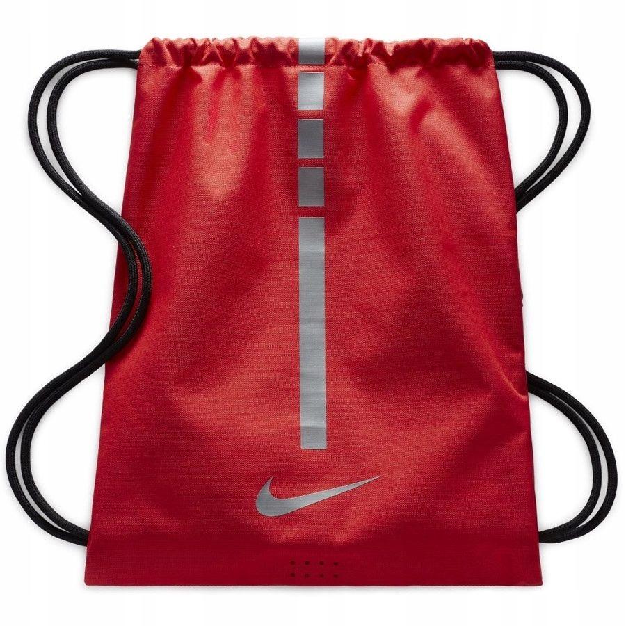Plecak Worek Nike Hoops Elite BA5552 657 czerwony