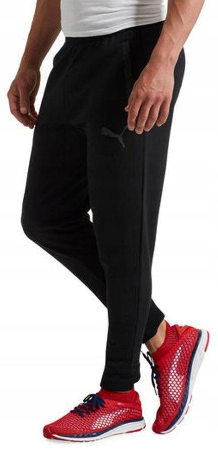 Puma Spodnie męskie Energy Trackster czarne r. L (