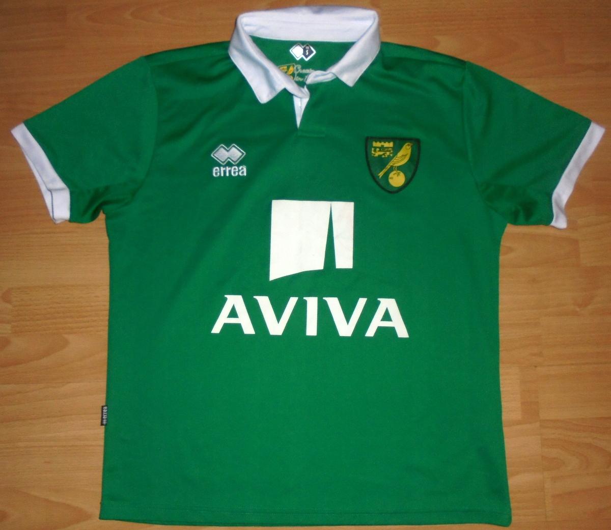 Koszulka Norwich City Errea S/M 2011/12