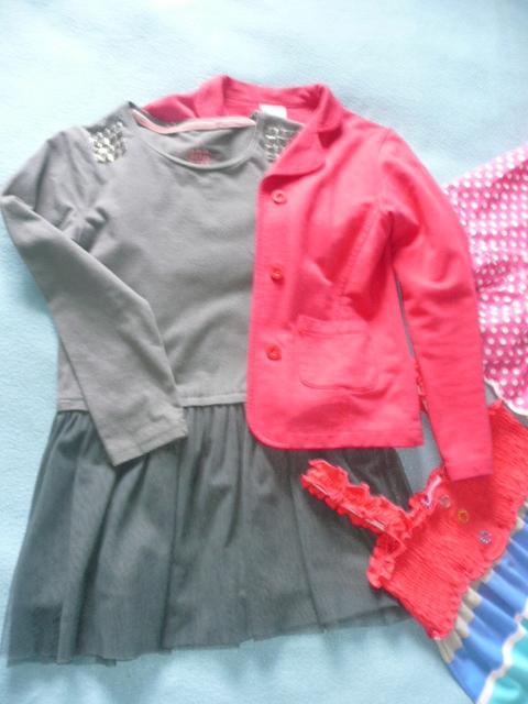 Paka dla dziew szkoła Zara Cocodr H&M 5-10-15
