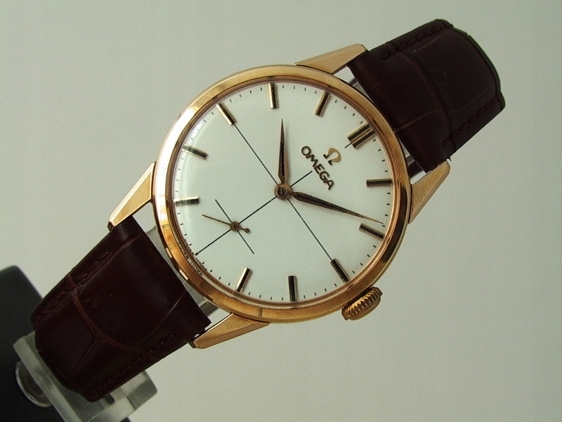 Omega Swiss Made Gold Plated ref. 14391-61 cal.268